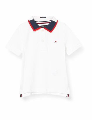 Tommy Hilfiger Boy's Intarsia Collar Polo S/S Shirt