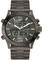 Caravelle New York by Bulova Men's Dual Time Analog-Digital Watch - 45B136
