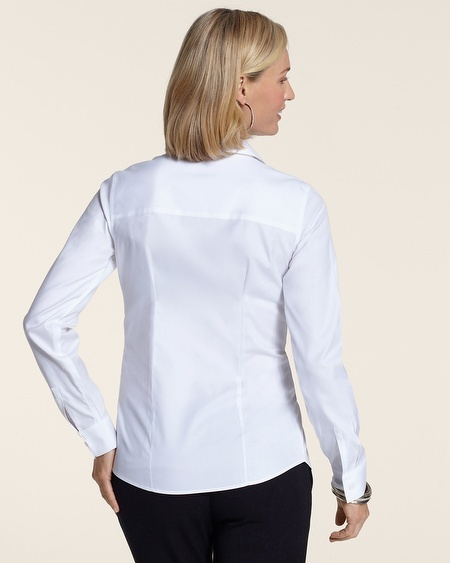 Chico's Effortless Cotton Naya Shirt