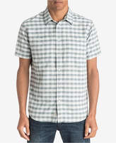 Quiksilver Waterman Men's Wake Yarn-Dyed Plaid Shirt