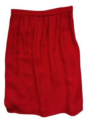 Miu Miu Red Viscose Skirts