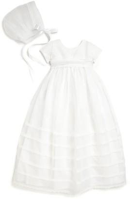 Isabel Garreton Baby's 2-Piece Organza Christening Gown & Bonnet Set
