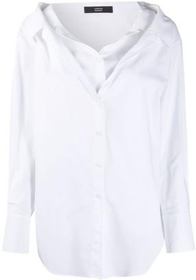 Steffen Schraut Double Layered Shirt