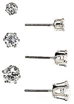 Anne Klein Trio Stud Earrings Set