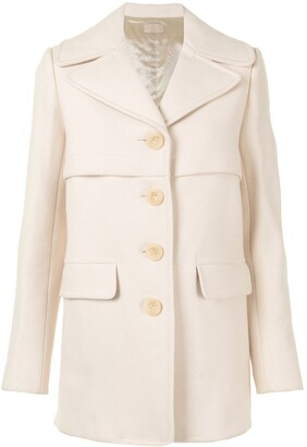 Alaïa Pre-Owned Pre-Owned Single-Breasted Coat