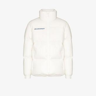 Mammut White Reflective Logo Puffer Jacket