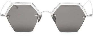 Smoke X Mirrors The Line 47MM Hexagonal Sunglasses