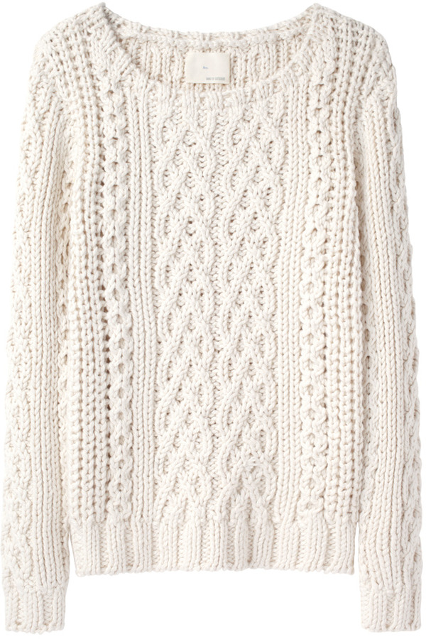 Boy By Band Of Outsiders Chunky Cable Pullover