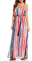 BB Dakota Joyner Chiffon Maxi Dress