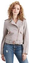 True Religion Leather Moto Womens Jacket