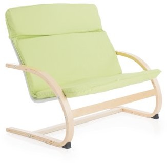 Guidecraft Kiddie Rocker Couch - Light Green