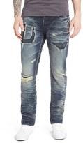 PRPS 'Demon' Repaired Slim Straight Leg Jeans (Enzyme)