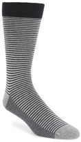 Ted Baker Stripe Organic Cotton Blend Socks