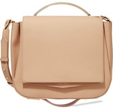 Eddie Borgo Pepper Saddle Matte-leather Shoulder Bag - Beige