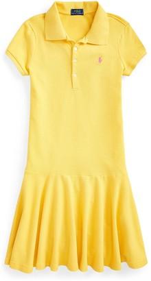 Ralph Lauren Girls Classic Polo Dress