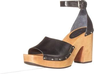 Lucky Brand womens NELORA HIGH Heel Clog