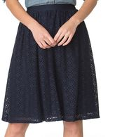 Chaps Women's Lace Skirt
