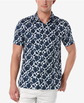 Perry Ellis Men's Portofino Geometric-Print Short-Sleeve Shirt