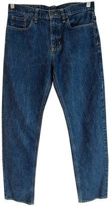 Polo Ralph Lauren Blue Cotton Jeans for Women Vintage