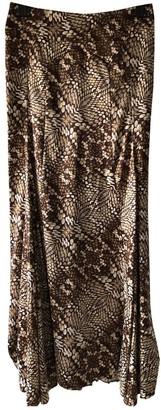 Just Cavalli Brown Skirt for Women