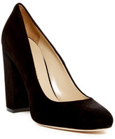 Charles David Delta Block Heel Pump