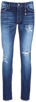 FDMTL 'Figure CS30' sashiko stitch ripped skinny jeans