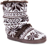 Muk Luks Women's Jenna Boot Slippers