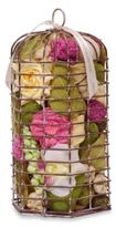 Bed Bath & Beyond Sweet Nectar Hexagon Birdcage Potpourri in Pink