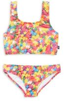 Zara Terez Girl's Printed Bikini