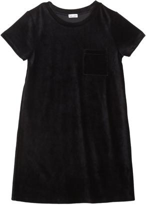 Splendid Girl's Velour Corduroy Pocket Dress, Size 7-14