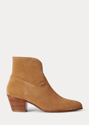 Ralph Lauren Lucille Leather Boot