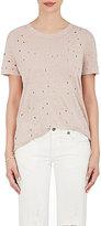 IRO Women's Distressed Linen T-Shirt