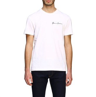 Versace T-shirt Short-sleeved T-shirt With Gianni Signature