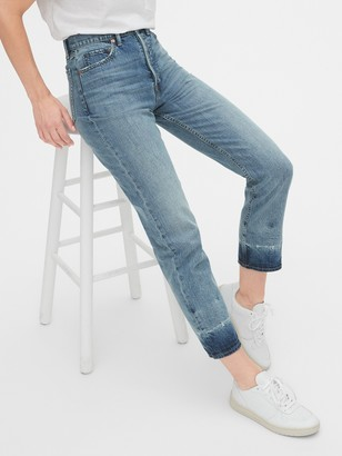 Gap Sky High Cheeky Straight Jeans