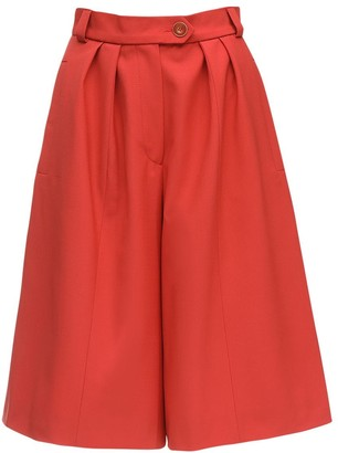 Cool Wool Bermuda Shorts