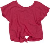 T2 Love T2Love Tie Back Tee (Toddler/Kid) - Hot Pink-2