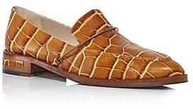 Freda Salvador Women's Light Apron-Toe Loafers