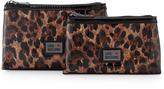 Moschino Leopard-Print Cosmetic Bag Set