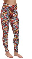 Freeze Marvel Comics All Over Print Avengers Leggings - M