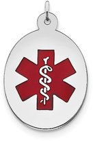 jewelryPot Sterling Silver Engravable Medical Jewelry Pendant