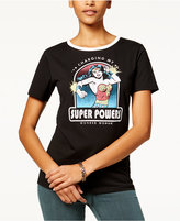 Bioworld Juniors' Wonder Woman Graphic Ringer T-Shirt