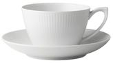 Royal Copenhagen Fluted Teacup & Saucer
