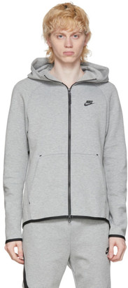 Nike Grey Tech Fleece Sportswear Hoodie