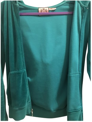 Juicy Couture Green Cotton Jacket for Women