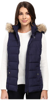 U.S. Polo Assn. Long Vest with Fur Hood