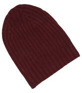 White + Warren Cashmere Ribbed Beanie