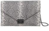 Loeffler Randall Signature Leather Lock Clutch