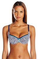 Panache Women's Lucille Bra-Sized Molded Cup Balconnet Swimsuit Bikini Top