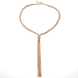 Bijoux Bar 19 Inch Snake Chain Necklace