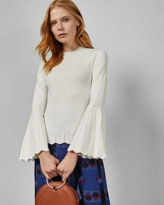 Ted Baker Dramatic Sleeve Detail Top